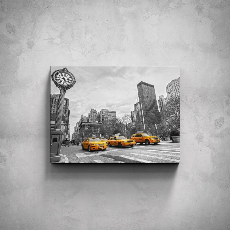 Obrazy - Obraz - Žluté taxi
