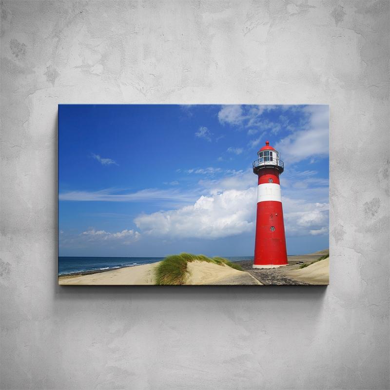 Obrazy - Obraz - Pobřežní maják