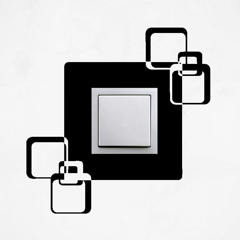 Samolepky na vypínač - Samolepka na vypínač - Kostky