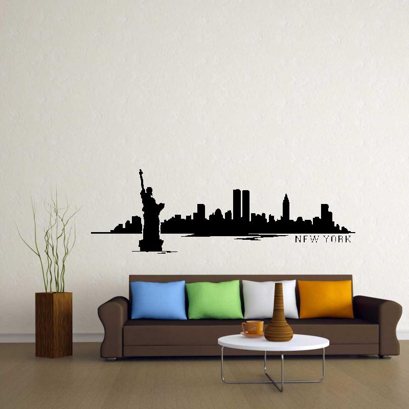 Samolepky na zeď - Samolepka na zeď - New York
