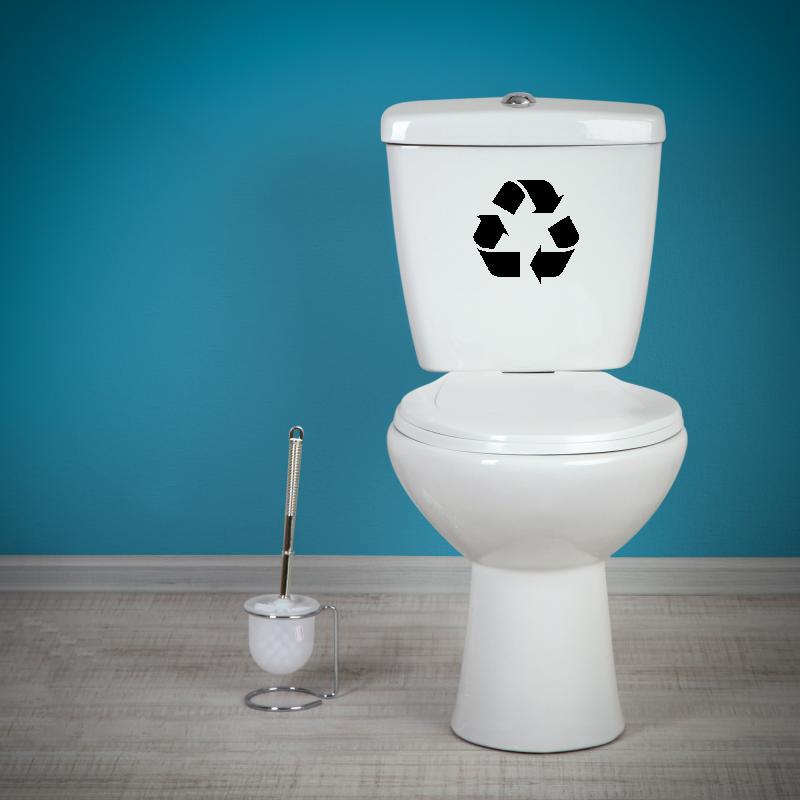 Samolepky na WC - Samolepka na WC - Recyklace