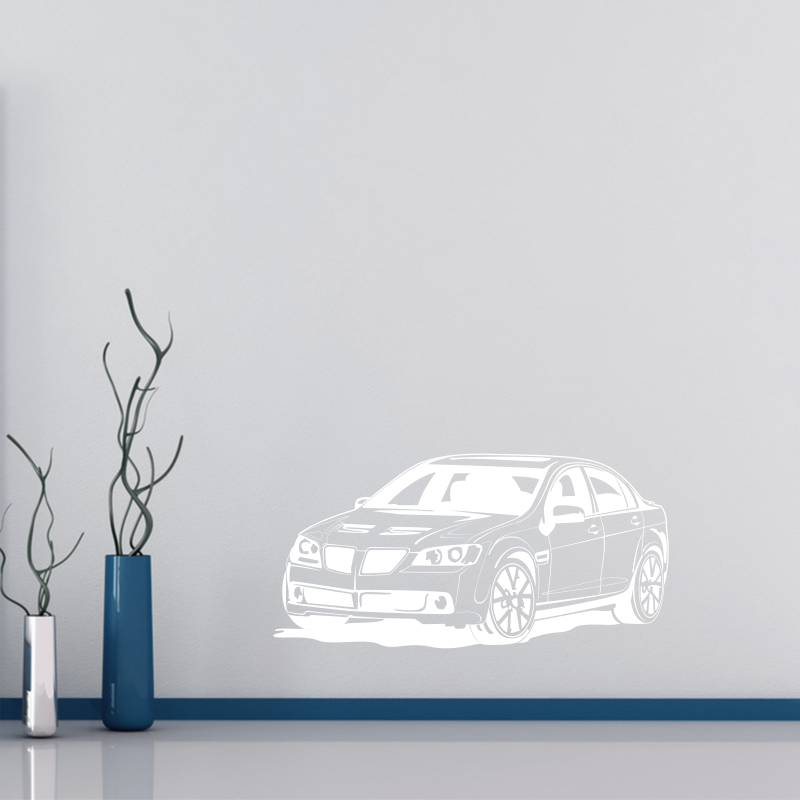 Samolepky na zeď - Samolepka na zeď - Závodní auto
