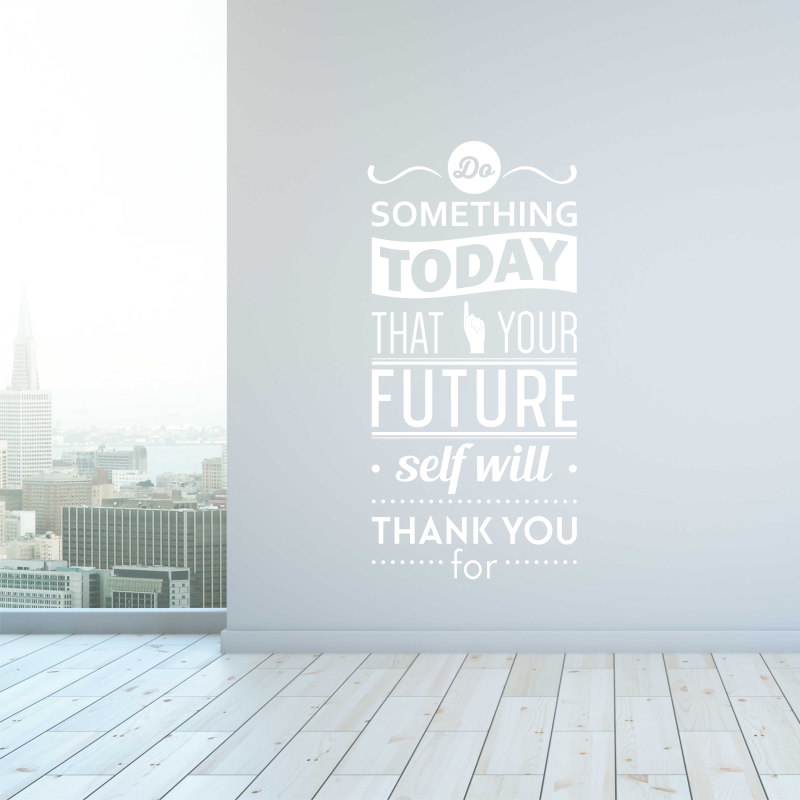 Samolepky na zeď - Samolepka na zeď - Nápis Future