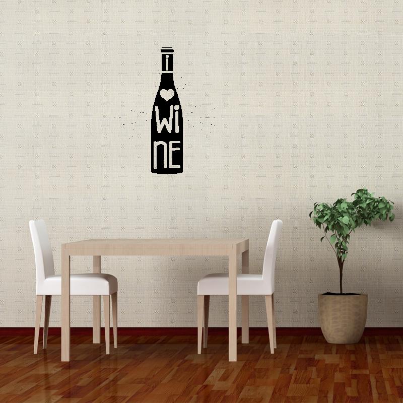 Samolepky na zeď - Samolepka na zeď - Wine
