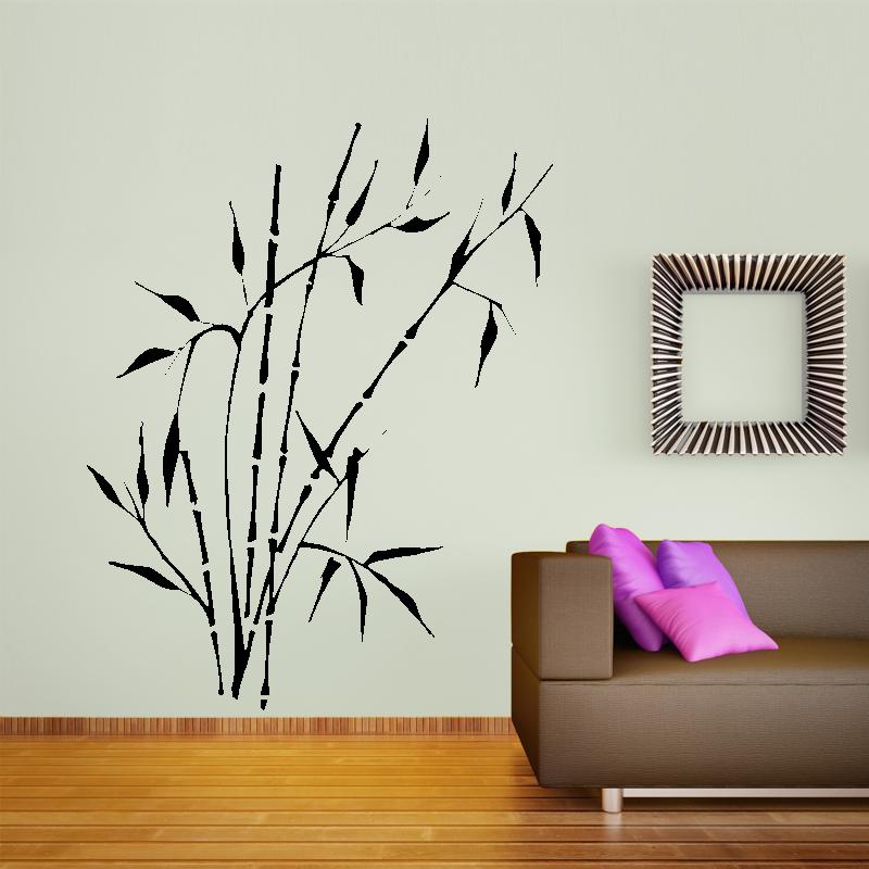 Samolepky na zeď - Samolepka na zeď - Čínský bambus