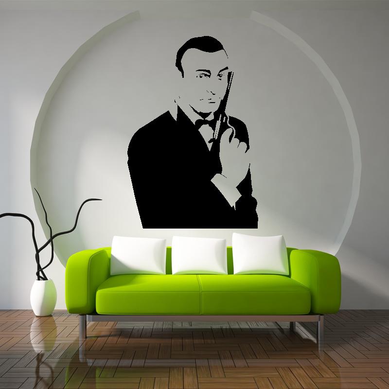Samolepky na zeď - Samolepka na zeď - James Bond 007