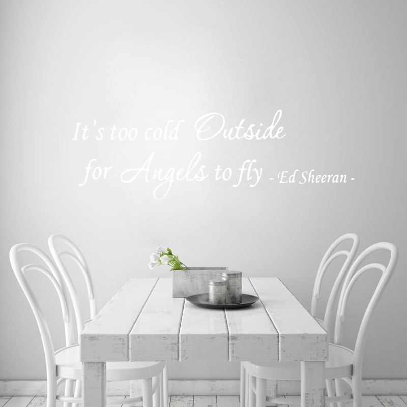 Samolepky na zeď - Samolepka na zeď - Angels - Ed Sheeran