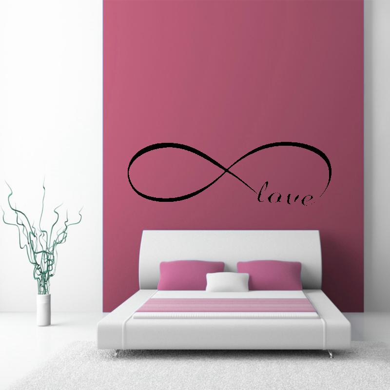 Samolepky na zeď - Samolepka na zeď - Love nápis