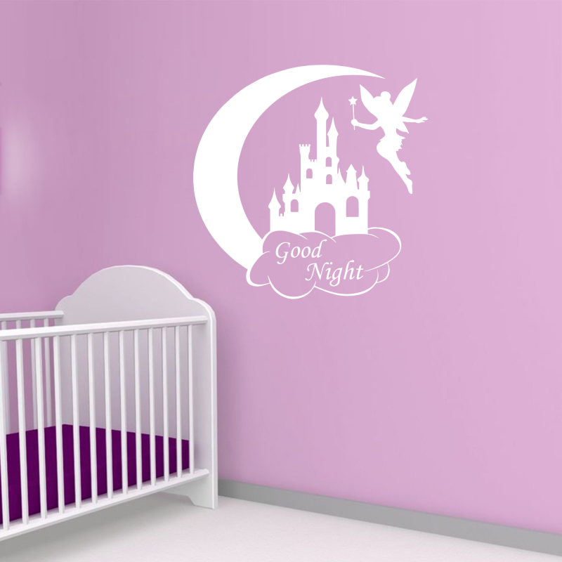 Samolepky na zeď - Samolepka na zeď - Good night nápis