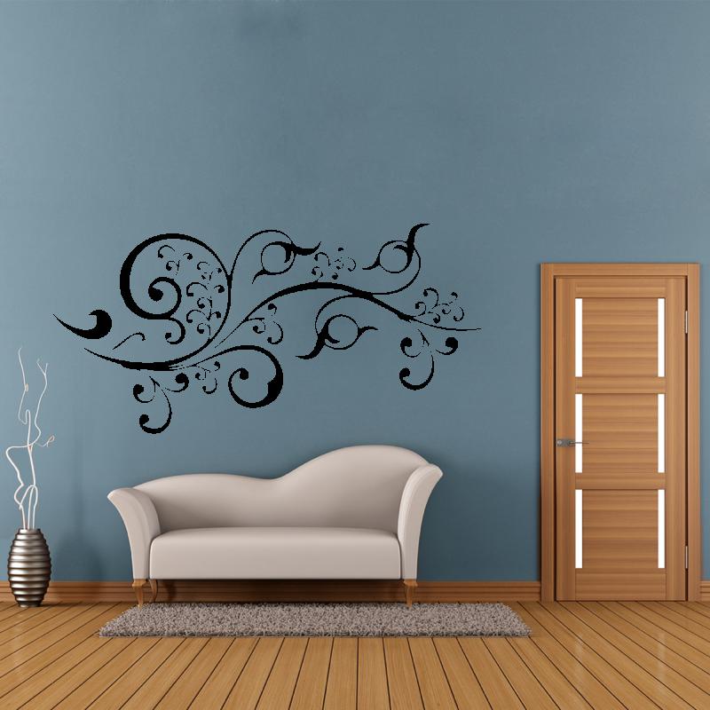 Samolepky na zeď - Samolepka na zeď - Floral ornament
