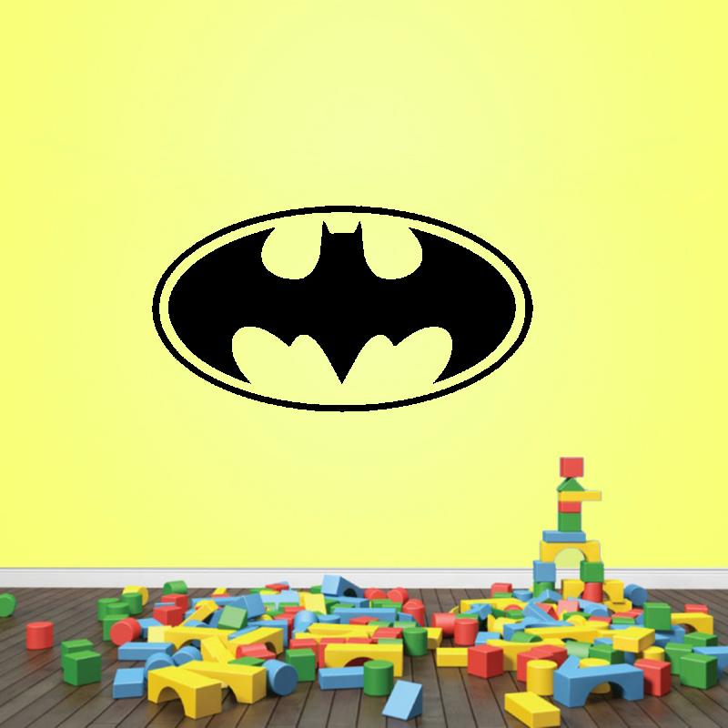Samolepky na zeď - Samolepka na zeď - Batman znak