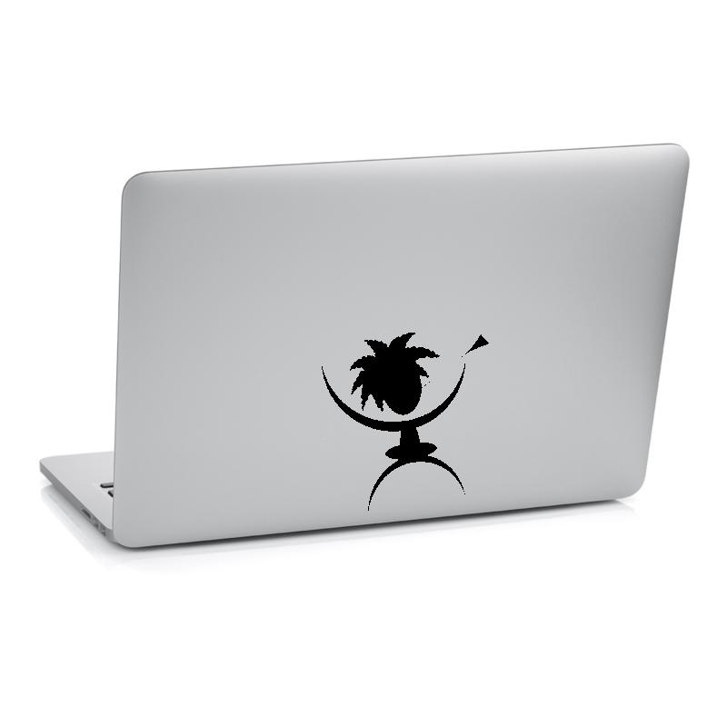 Samolepky na notebook - Samolepka na notebook - Domorodec