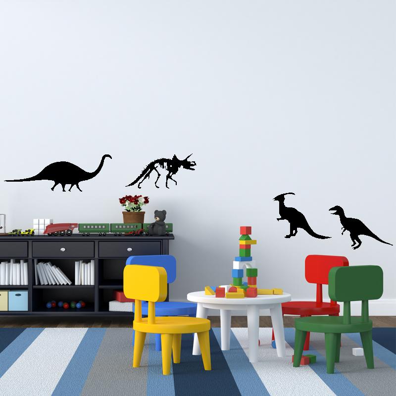 Samolepky na zeď - Samolepka na zeď - Dinosauři set