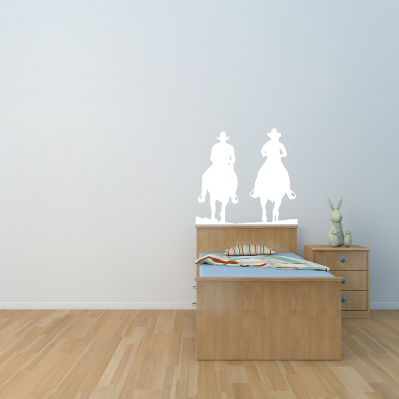 Samolepky na zeď - Samolepka na zeď - Kovbojové