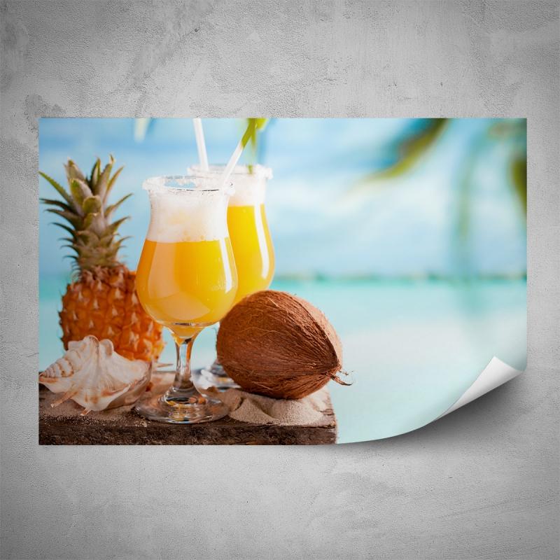Plakáty - Plakát - Letní drink