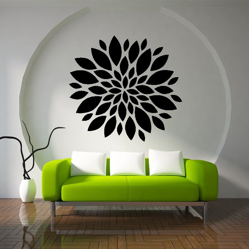 Samolepky na zeď - Samolepka na zeď - Velký květ