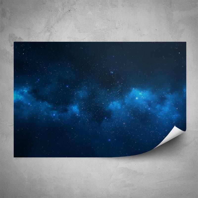 Plakáty - Plakát - Modrá záře