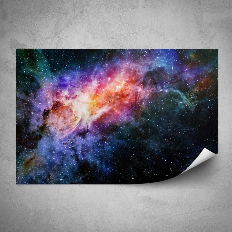 Plakáty - Plakát - Barevný vesmír