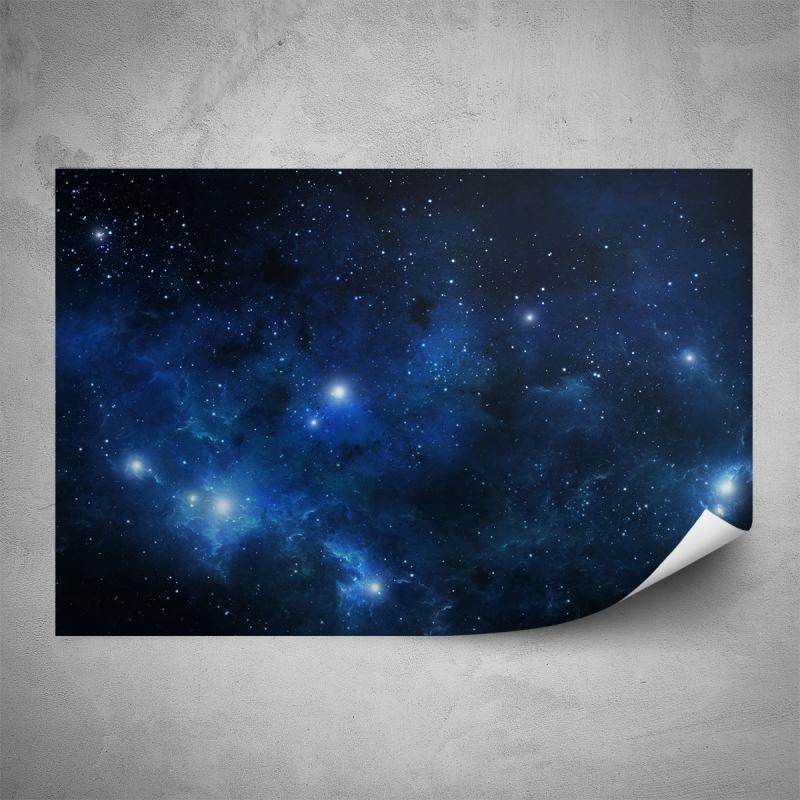Plakáty - Plakát - Modrý vesmír