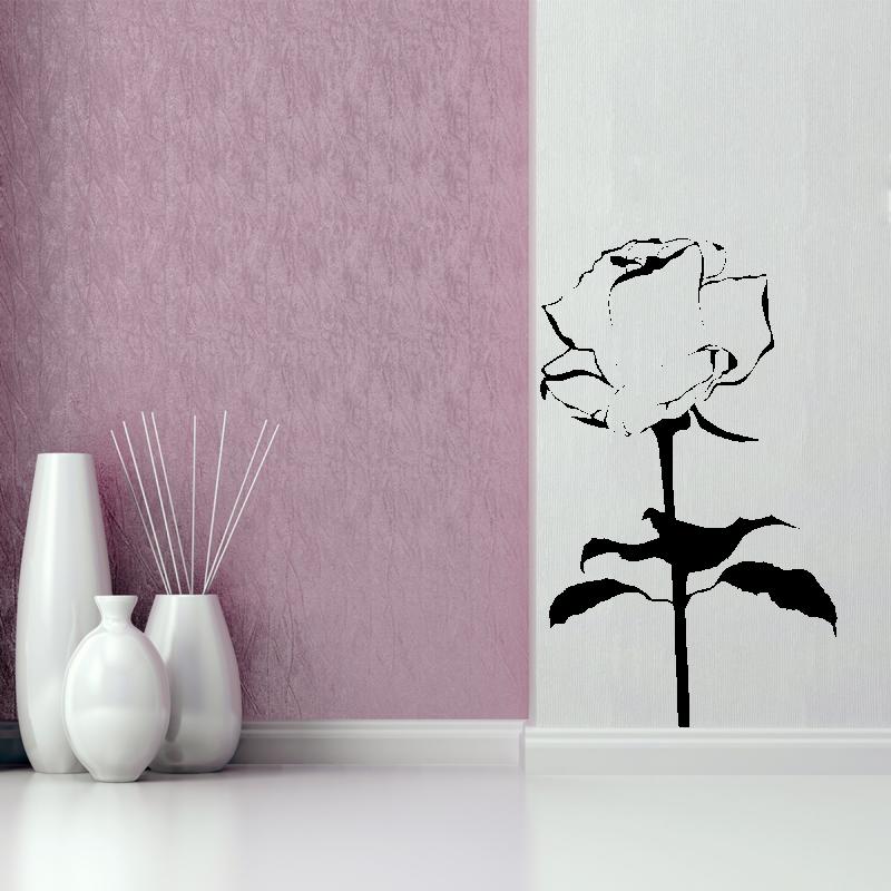 Samolepky na zeď - Samolepka na zeď - Růže