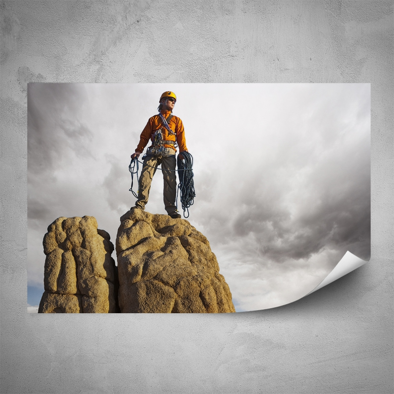 Plakáty - Plakát - Zdolání vrcholu