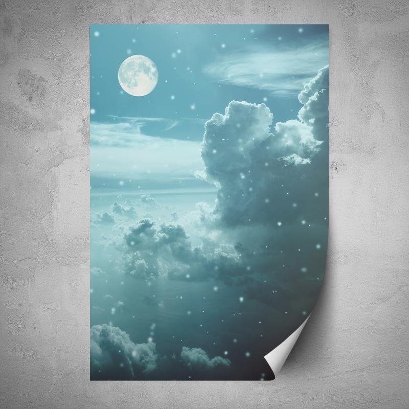 Plakáty - Plakát - Večerní obloha