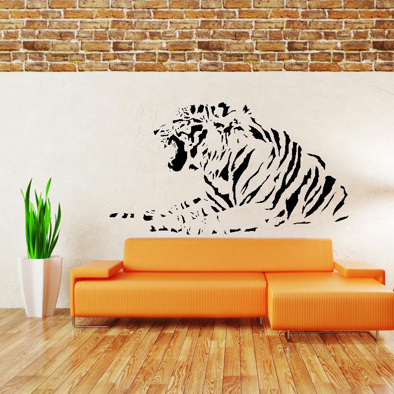 Samolepky na zeď - Samolepka na zeď - Indický tygr