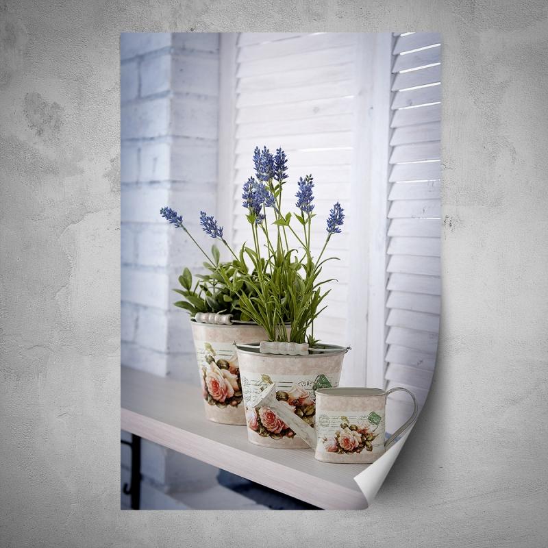 Plakáty - Plakát - Levandule na okně