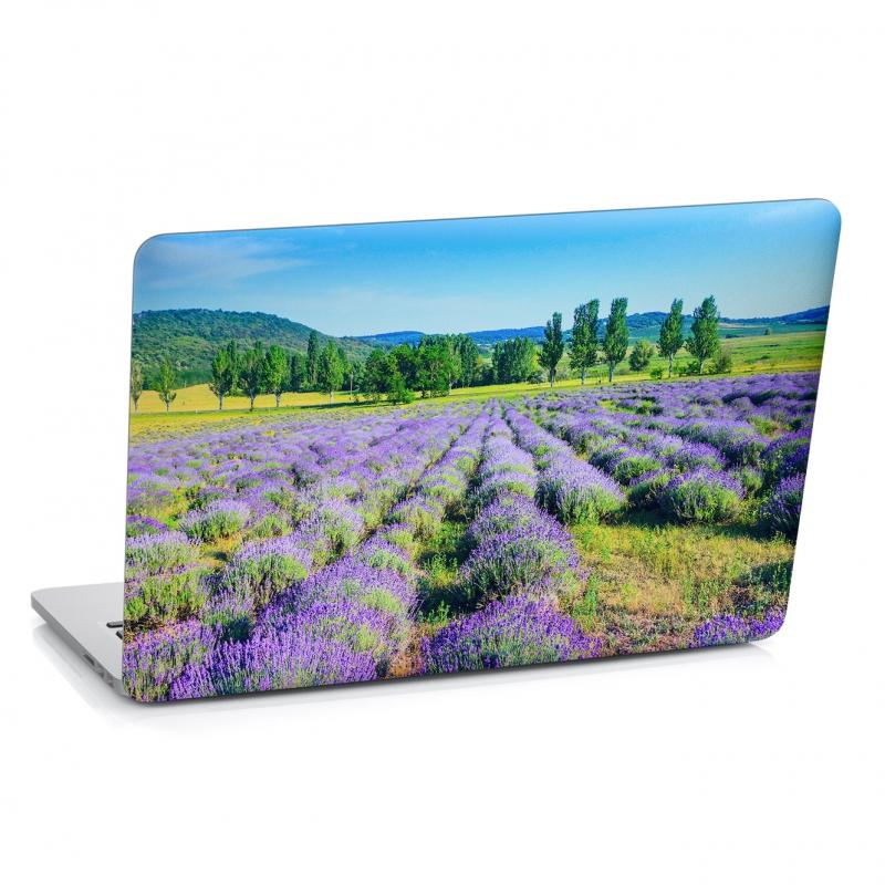 Samolepky na notebook - Samolepka na notebook - Levandulové pole