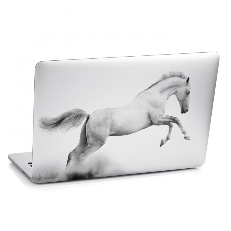 Samolepky na notebook - Samolepka na notebook - Bílý kůň