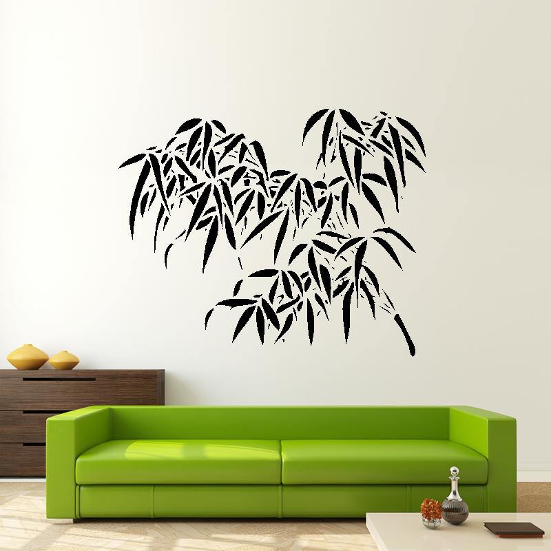 Samolepky na zeď - Samolepka na zeď - Bambusová větvička