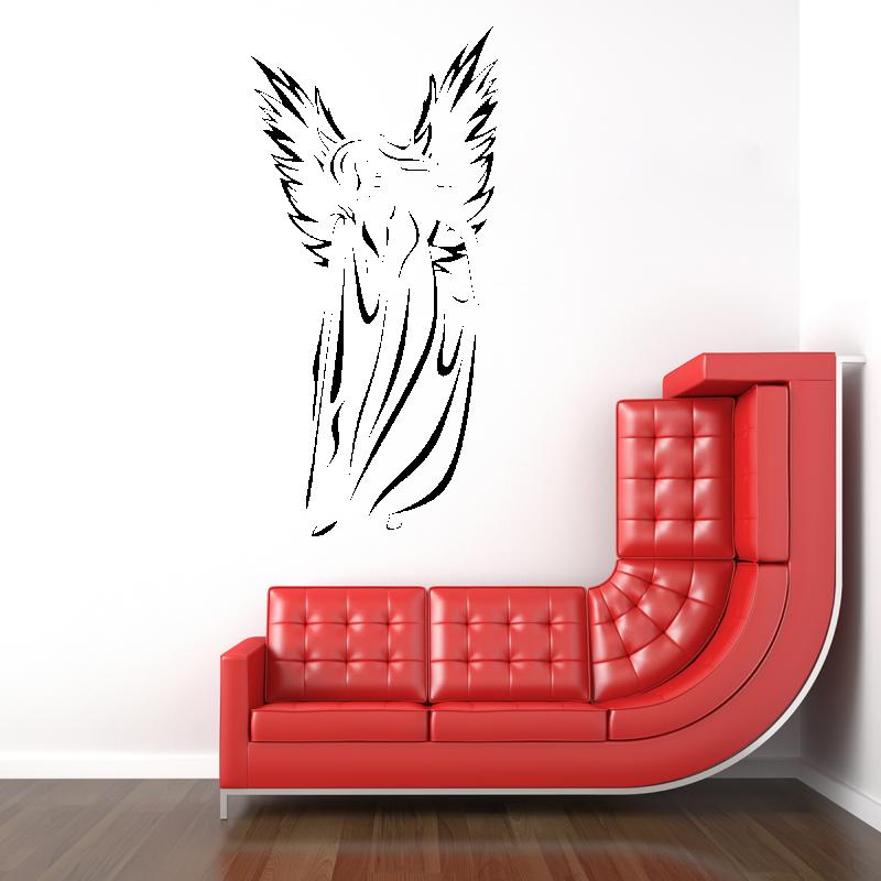 Samolepky na zeď - Samolepka na zeď - Anděl