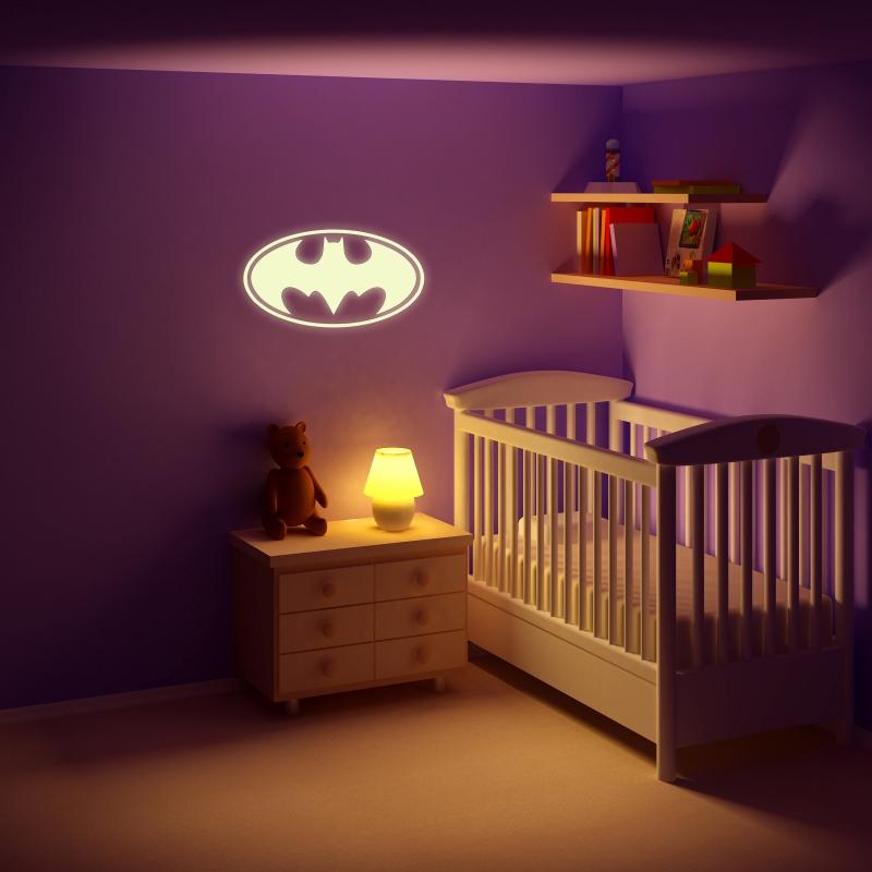 Samolepky na zeď - Svíticí samolepka na zeď - Batman