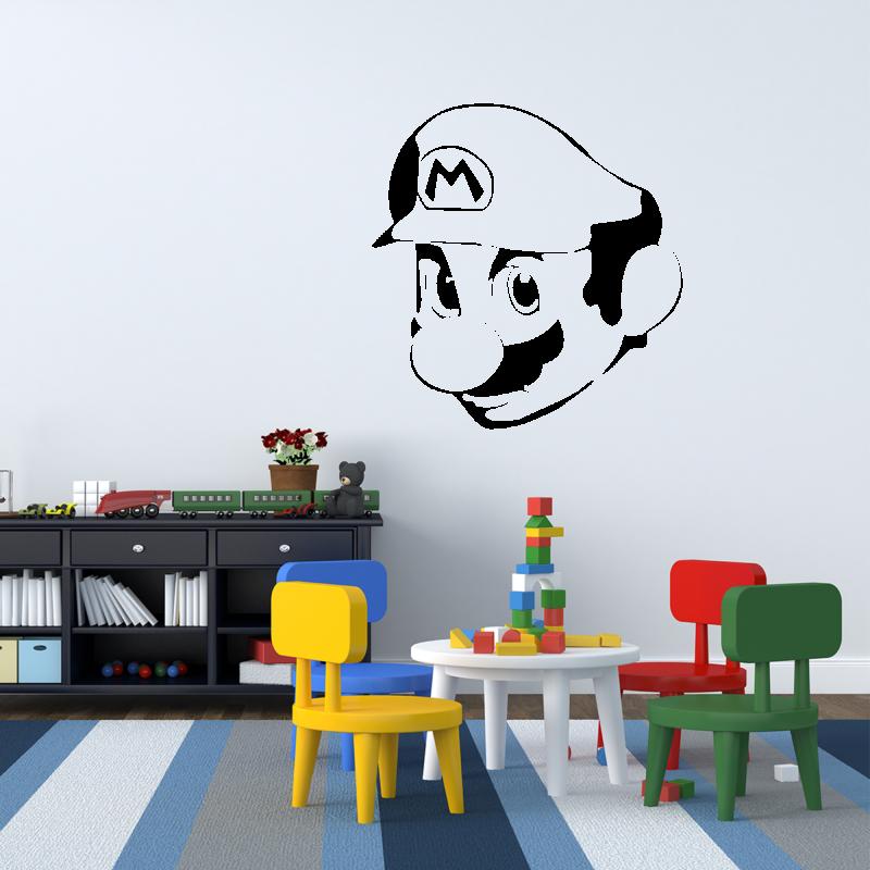 Samolepky na zeď - Samolepka na zeď - Mario