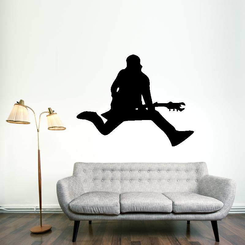 Samolepky na zeď - Samolepka na zeď - Kytarista