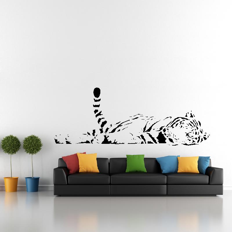 Samolepky na zeď - Samolepka na zeď - Tygr