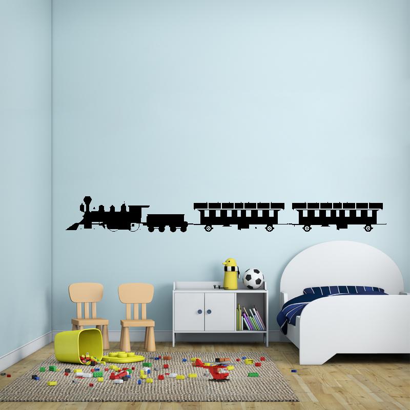 Samolepky na zeď - Samolepka na zeď - Vláček
