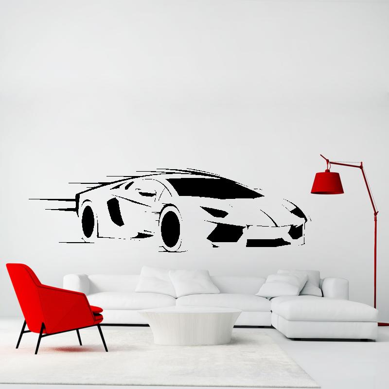 Samolepky na zeď - Samolepka na zeď - Lamborghini
