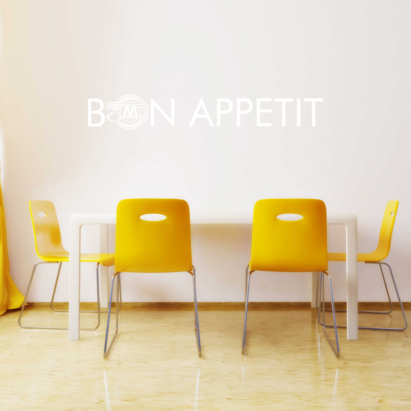 Samolepky na zeď - Samolepka na zeď - Bon Appetit 2