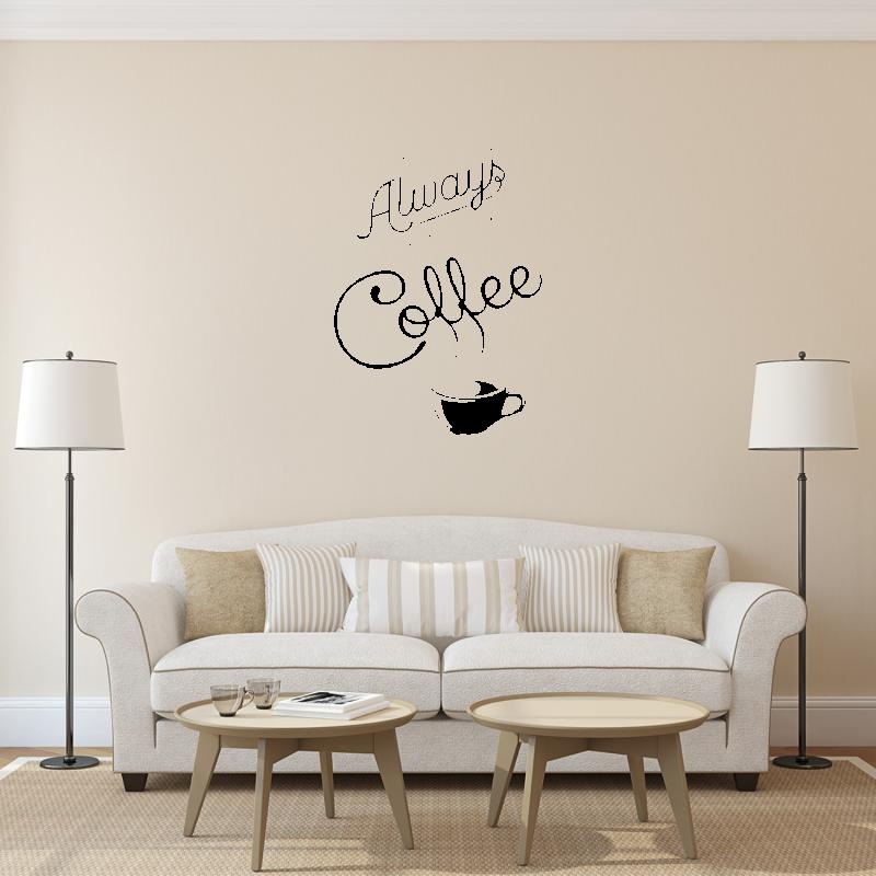Samolepky na zeď - Samolepka na zeď - Coffee