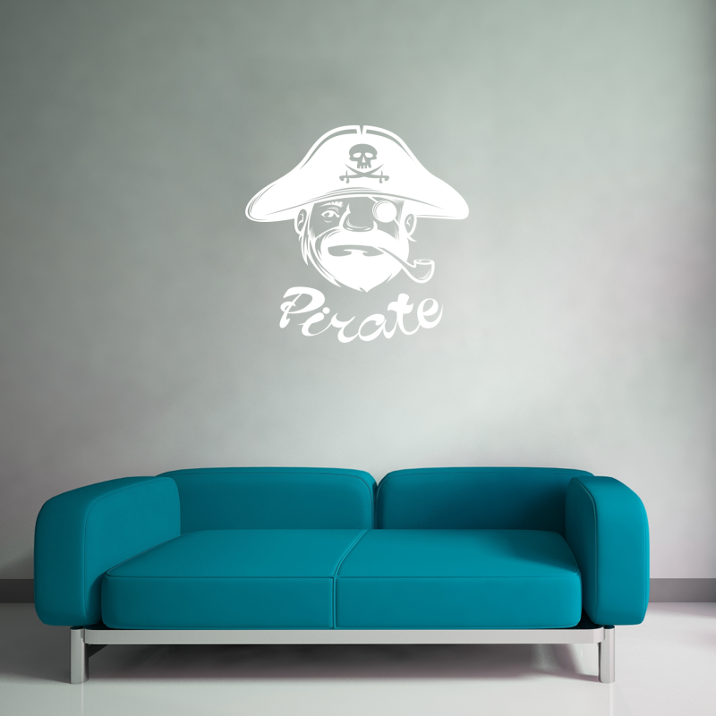 Samolepky na zeď - Samolepka na zeď - Pirát