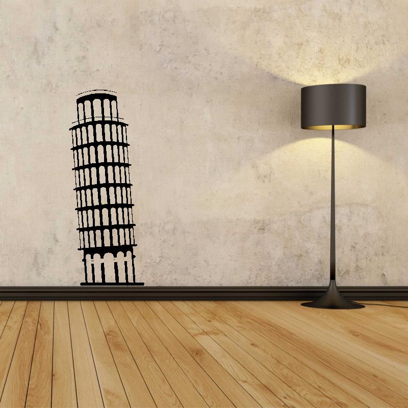 Samolepky na zeď - Samolepka na zeď - Šikmá věž v Pise