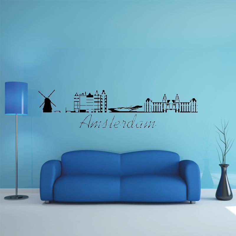 Samolepky na zeď - Samolepka na zeď - Amsterdam