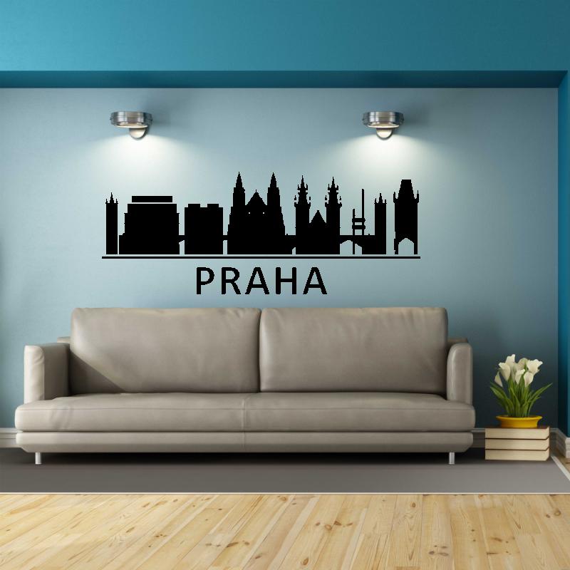 Samolepky na zeď - Samolepka na zeď - Praha