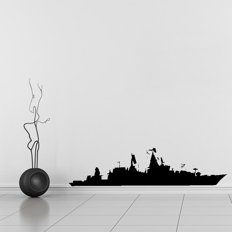 Samolepky na zeď - Samolepka na zeď - Válečná loď