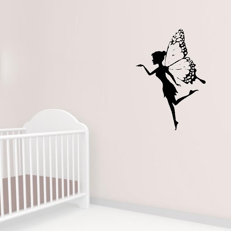 Samolepky na zeď - Samolepka na zeď - Motýlí víla