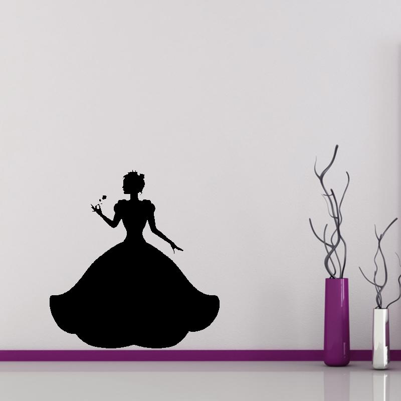 Samolepky na zeď - Samolepka na zeď - Princezna
