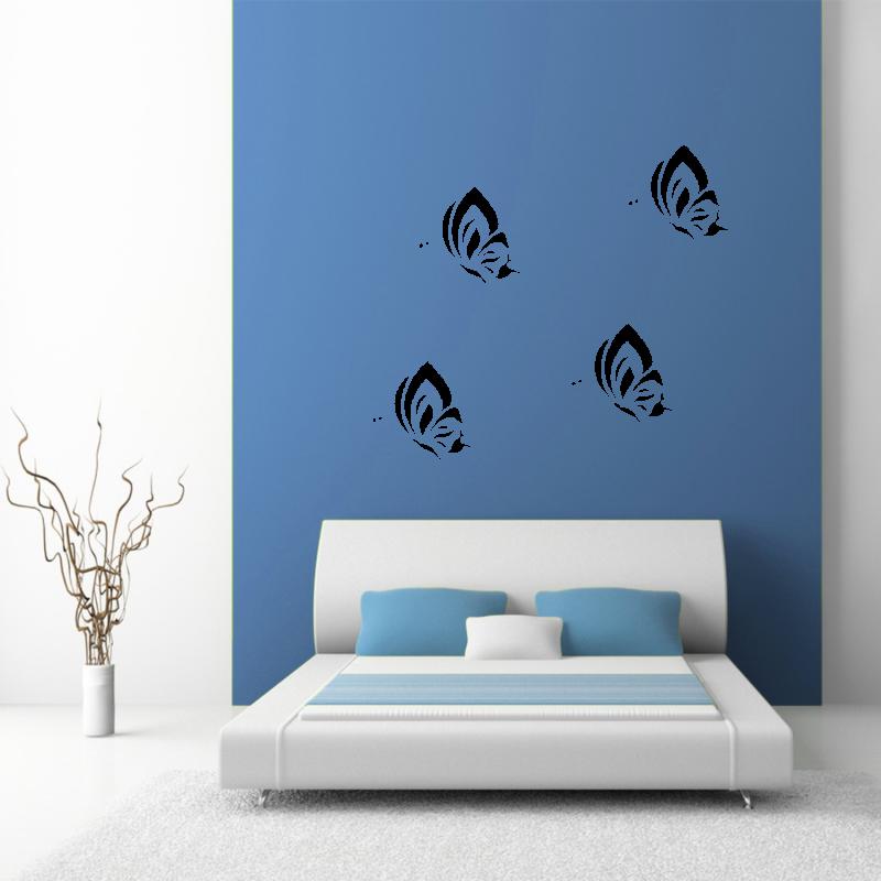 Samolepky na zeď - Samolepka na zeď - Motýli set