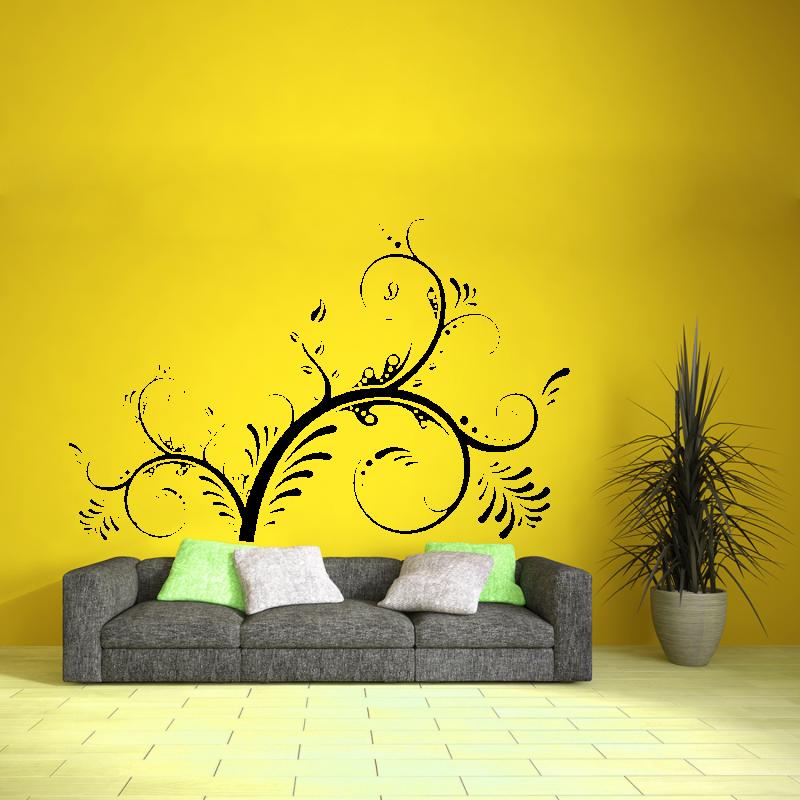 Samolepky na zeď - Samolepka na zeď - Floral 2