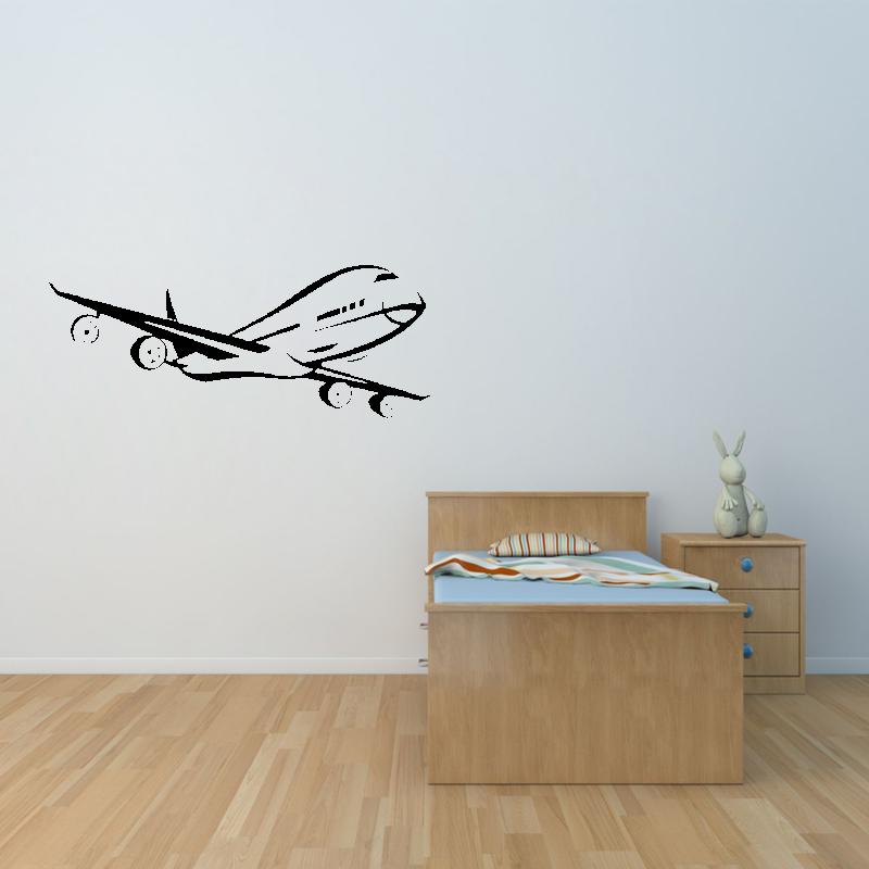 Samolepky na zeď - Samolepka na zeď - Letadlo